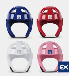 Mooto EXTERA Headgear S2_Red/Blue/White/Pink